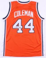 Derrick Coleman Signed Syracuse Orange Jersey (JSA COA)