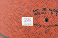 "Magic Johnson & Kobe Bryant Signed NBA Basketball Inscribed ""Lakers 4 Life"" (PSA COA) at PristineAuction.com"
