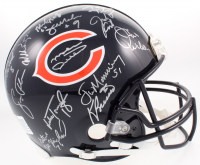 1985 Chicago Bears Super Bowl XX Champions Full-Size Helmet Team-Signed by (30) With Mike Ditka, Richard Dent, Jim McMahon, Mike Singletary, Dan Hampton With Inscriptions (Schwartz COA)