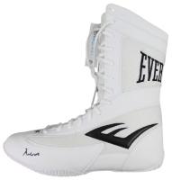 Muhammad Ali Signed Everlast Boxing Shoe (PSA LOA)