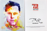 """Tom Brady Signed """"The TB12 Method: How to Achieve a Lifetime of Sustained Peak Performance"""" Hardcover Book (Beckett LOA)"""