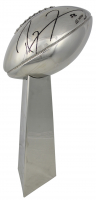 "Ray Lewis Signed Replica Vince Lombardi Trophy Inscribed ""SB XXXV MVP"" (PSA COA)"