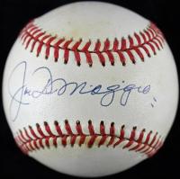 Joe DiMaggio Signed OAL Baseball (PSA LOA)