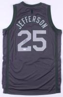 Al Jefferson Signed Utah Jazz Jersey (JSA COA)