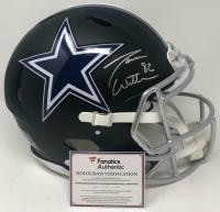 Jason Witten Signed Dallas Cowboys Matte Black Full-Size Authentic On-Field Speed Helmet (Fanatics Hologram) at PristineAuction.com