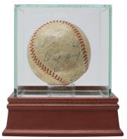 Babe Ruth, Lou Gehrig, Tony Lazzeri & More Signed Baseball (JSA LOA) at PristineAuction.com