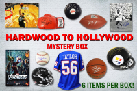 Hardwood to Hollywood EXTREME Autograph Mystery Box – Series 3 (6 Signed Collectibles Per Box) (Limited to 100) at PristineAuction.com