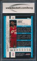 2003-04 Bowman Chrome #123 LeBron James RC (BCCG 10) at PristineAuction.com