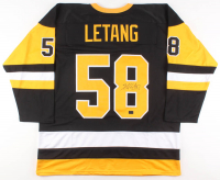 Kris Letang Signed Pittsburgh Penguins Jersey (Your Sports Memorabilia Store COA)