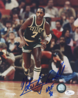 "Nate ""Tiny"" Archibald Signed Boston Celtics 8x10 Photo Inscribed ""HOF 91"" (JSA COA)"
