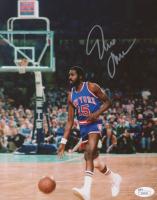 Earl Monroe Signed New York Knicks 8x10 Photo (JSA COA)