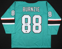 "Brent Burns Signed San Jose Sharks ""Burnzie"" Jersey (Your Sports Memorabilia Store COA)"