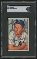 1952 Bowman #101 Mickey Mantle (SGC 4)
