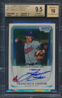 2011 Bowman Chrome Draft Prospect Autographs #FL Francisco Lindor (BGS 9.5)