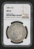 1881-S Morgan Silver Dollar (NGC MS63)