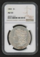 1882 Morgan Silver Dollar (NGC AU53)