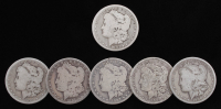 Lot of (6) Morgan Silver Dollars with 1883-CC at PristineAuction.com
