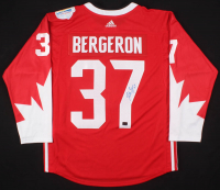 Patrice Bergeron Signed Team Canada 2016 World Cup of Hockey Jersey (Your Sports Memorabilia Store COA)