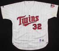 Dave Winfield Game Used Minnesota Twins Jersey (Miedema LOA)