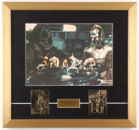 """""""Star Wars: A New Hope""""18x19 Custom Framed Photo with (2) 23Kt Gold Cards"""