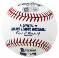 Cody Bellinger Signed OML Baseball with Display Case (Beckett COA & MLB Hologram) at PristineAuction.com