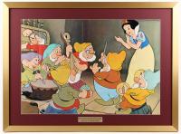 "Vintage 1975 Walt Disney ""Snow White"" 25x34 Custom Framed Print"