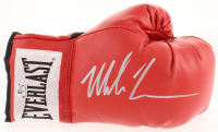 Mike Tyson Signed Everlast Boxing Glove (Fiterman Sports Hologram)