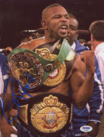 Roy Jones Jr. Signed 8.5x11 Photo (PSA COA)