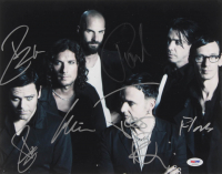 """Rammstein"" Signed 11x14 Photo Band-Signed by (6) with Till Lindermann, Richard Z. Kruspe, Paul Landers, Oliver Riedel (PSA LOA) at PristineAuction.com"