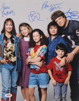 """Roseanne"" Signed 11x14 Photo Cast-Signed by (6) with Roseanne Barr, John Goodman, Sara Gilbert, Laurie Metcalf (PSA LOA) at PristineAuction.com"
