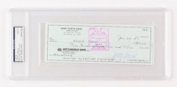 Jerry Garcia Signed 1985 Personal Bank Check (PSA Encapsulated) at PristineAuction.com