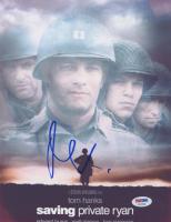 "Matt Damon Signed ""Saving Private Ryan"" 8.5x11 Photo (PSA COA) at PristineAuction.com"
