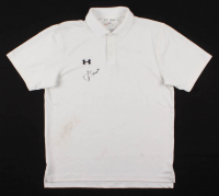 Jordan Spieth Signed Under Armour Golf Shirt (PSA COA) at PristineAuction.com