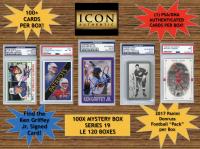 Icon Authentic 100X Mystery Box Series 19 - (100+ Cards Per Box)