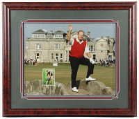 Jack Nicklaus Signed 24x28 Custom Framed Card Display (JSA COA) at PristineAuction.com