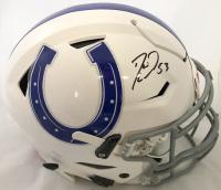 Darius Leonard Signed Indianapolis Colts Full-Size Authentic On-Field Speedflex Helmet (JSA COA)