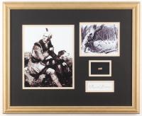 Daniel Boone 18x22 Custom Framed Cut Display with (1) Hand-Written Word from Letter (JSA LOA Copy)