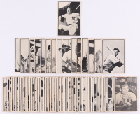 Complete Set (64/64) of 1953 Bowman Black & White Bsseball Cards with #39 Casey Stengel