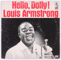"Louis Armstrong Signed ""Hello, Dolly!"" Vinyl Record Album (JSA LOA) at PristineAuction.com"