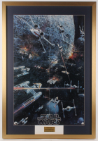 Star Wars 1977 Original Promo 27x39 Custom Framed Poster Display