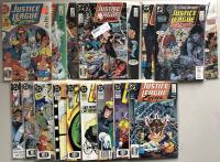 Lot of (41) 1987 Marvel Justice League Comic Books