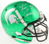 Kirk Cousins Signed Michigan State Spartans Full-Size Authentic On-Field Chrome Helmet (Radtke COA) at PristineAuction.com