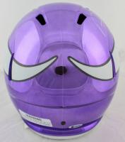 Adam Thielen Signed Minnesota Vikings Full-Size Purple Chrome Speed Helmet (Beckett COA) at PristineAuction.com