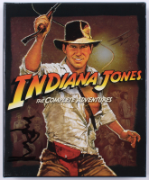 """Harrison Ford Signed """"Indiana Jones The Complete Adventures"""" DVD Box Set (Beckett LOA)"""