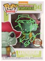"Kevin Eastman Signed Teenage Mutant Ninja Turtles ""Leatherhead"" #543 Funko POP! Vinyl Figure with Hand-Drawn Leatherhead Sketch (PA COA) at PristineAuction.com"