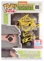 "Kevin Eastman Signed ""Teenage Mutant Ninja Turtles"" - Shredder #08 8-Bit Funko Pop! Vinyl Figure with Hand-Drawn Shredder Sketch (PA COA) at PristineAuction.com"