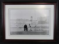 Mickey Mantle Signed New York Yankees 16x20 Custom Framed Photo (UDA COA)