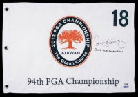 "Rory McIlroy Signed Limited Edition 2012 PGA Pin Flag Inscribed ""2012 PGA Champion"" (UDA COA) at PristineAuction.com"