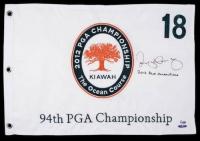 "Rory McIlroy Signed Limited Edition 2012 PGA Pin Flag Inscribed ""2012 PGA Champion"" (UDA COA) at PristineAuction.com"