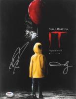 "Bill Skarsgard & Andy Muschietti Signed ""It"" 11x14 Photo (PSA COA) at PristineAuction.com"